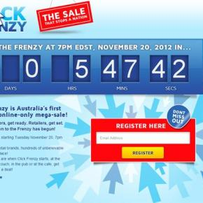 #ClickFrenzy – The Sale The NationStopped